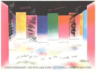 James Rosenquist, 'Horizon', 1970
