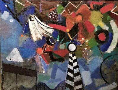 Henry Kallem, 'Fireworks Over Coney Island', 1940