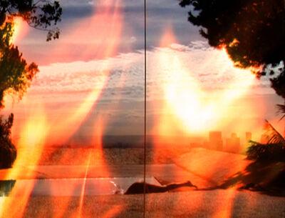 Michel Auder, 'LA ON FIRE (II)', 2008