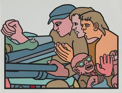 Bernard Aptekar, 'They Won't Be Stopped', 1983
