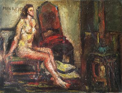 Max Weber, 'Nude on Chair', 1950