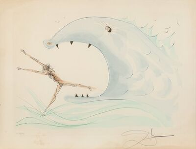 Salvador Dalí, 'Jonah and the whale, from Our Historical Heritage', 1975