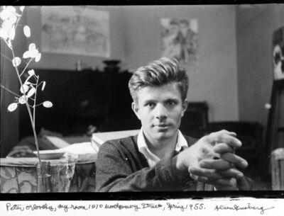 "Allen Ginsberg, '""Peter Orlovsky, my room 1010 Montgomery St.""', Spring 1955"
