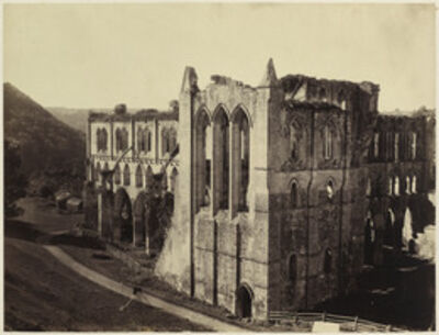 Roger Fenton, 'Rievaulx Abbey, the North Transept', 1854