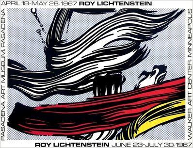 Roy Lichtenstein, 'Vintage Poster Walker Art Museum & Pasadena Art Museum (Corlett III.22)'