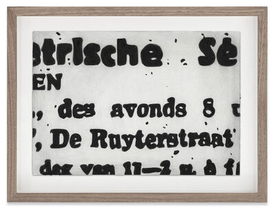 Marcel van Eeden, 'Untitled', 2015