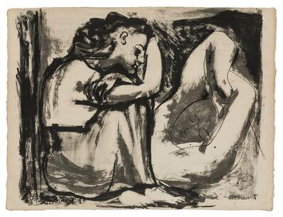Pablo Picasso, 'Femme assise et Dormeuse', 1947