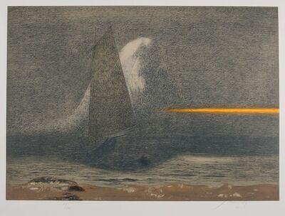 Piero Guccione, 'Omaggio a C.D.Friedrich', 1981