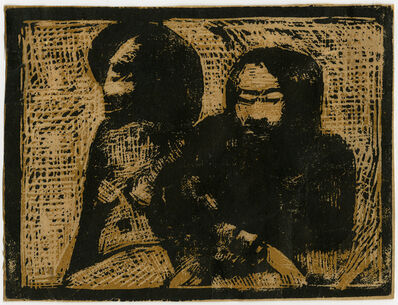 Paul Gauguin, ' Deux Maoris (Two Maori)', ca. 1896–1897
