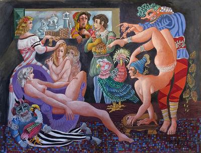 Julio De Diego, 'Christmas Turkey & the General's Daughter'