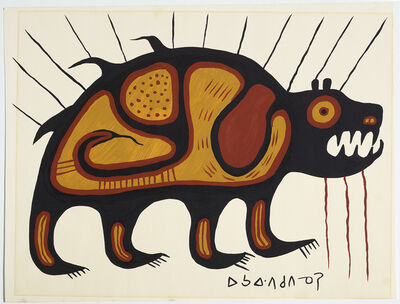 Norval Morrisseau, 'Bear', ca. 1970