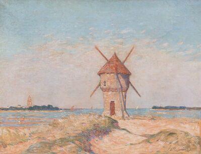 Ferdinand du Puigaudeau, 'Le moulin de la Mass à Batz'