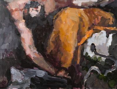 Aukse Miliukaite, 'I've met a snake in Prado (after Titian)', 2017