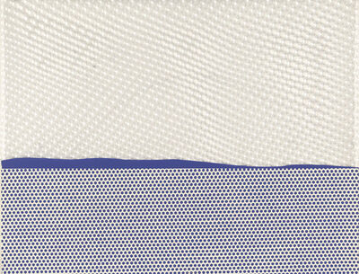 Roy Lichtenstein, 'Seascape', 1964-65