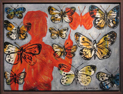 David Bromley, 'Butterflies'
