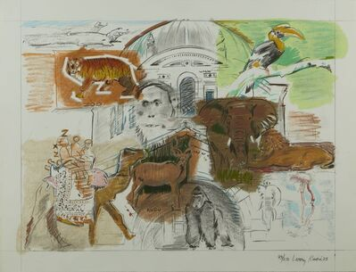 Larry Rivers, 'Bronx Zoo', 1983