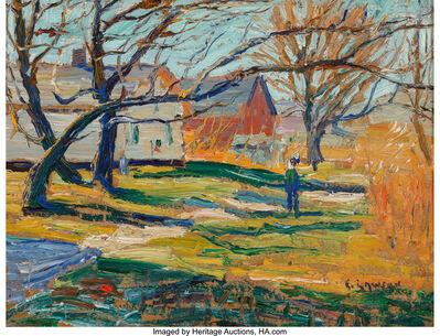 Ernest Lawson, 'Country Farmhouse'