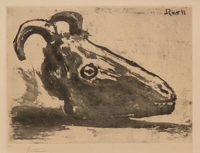 Pablo Picasso, 'Goat's Head', 1952