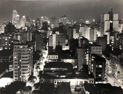 German Lorca, 'Vista Noturna do Arouche para o Centro', 1960-1970