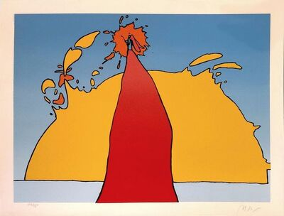 Peter Max, 'HIS OWN ECLIPSE', 1978