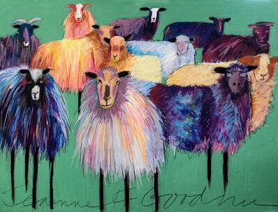 Jeanne Finkelstein Goodman, 'Flock of Sheep', 2018