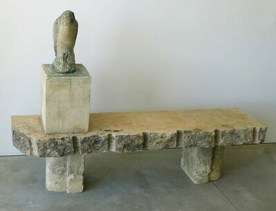 Jane Rosen, 'Egyptian Falcon on Bench'