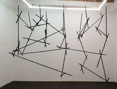 Wolfgang Becksteiner, 'Als der Strich begann den Raum für sich zu entdecken', 2018