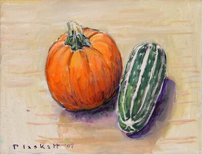 Joseph Plaskett, 'Pumpkin & Marrow (2)'