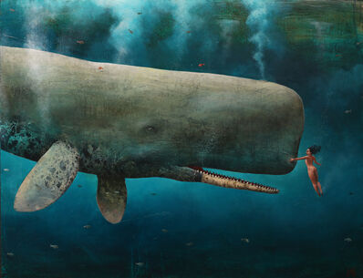 Sylvain Lefebvre, 'Close Encounter with a Whale', 2021