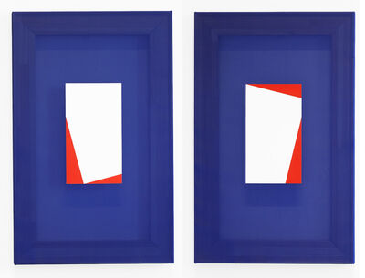 Disa Rytt, 'Image of a Diptych I and II', 2021