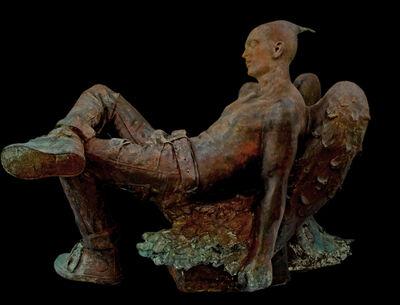 Giuseppe Tirelli, 'Angelo ebbro con jeans', 2019