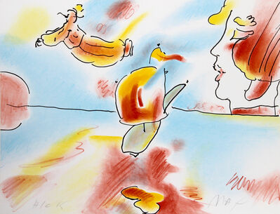 Peter Max, 'Boat Flyer', 1980