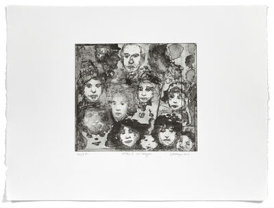 Jean-Pierre Larocque, 'Têtes à la sanguine', 2010