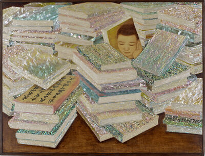 Kim Duck Yong, 'The books', 2014