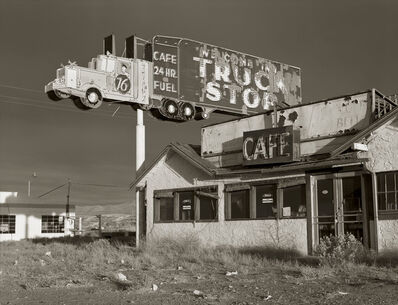 Steve Fitch, 'Abandoned Truckstop, Highway I-80, Winnemucca, Nevada; 1970'