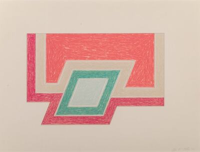 Frank Stella, 'Conway, from the Eccentric Polygons series', 1974
