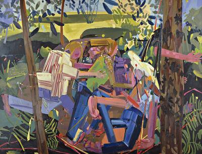 Dana Schutz, 'Run', 2003