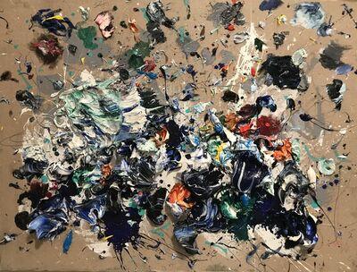 Ismael Lagares, 'BLUE VII', 2018