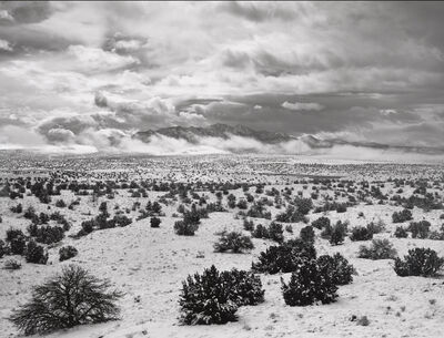 Jody Forster, 'Winter Storm Clearing, Ortiz Mountains, New Mexico', 2010