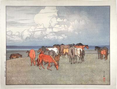Yoshida Hiroshi, 'Numazaki Pasture', 1928
