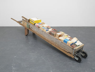 Theaster Gates, 'Migration Rickshaw for Play and Donation', 2013