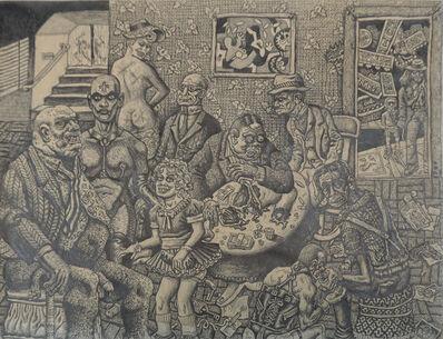 Joe Coleman, 'Maison Joie', 1976