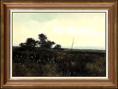 Michael Coleman, 'Michael Coleman Oil Painting on Board Original Landscape Signed Vintage Artwork', 1975