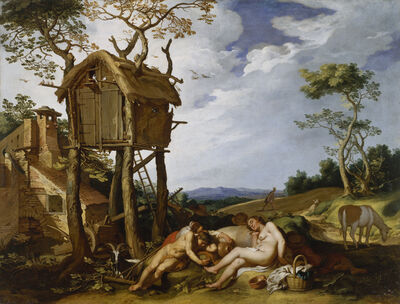 Abraham Bloemaert, 'Parable of the Wheat and the Tares', 1624