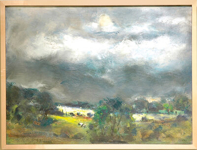 Raoul Middleman, 'Storm over the Susquehanna ', 2003