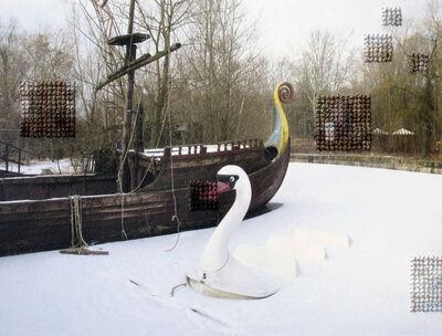Diane Meyer, 'Swan, Spree Park, Abandoned DDR Amusement Park', 2014