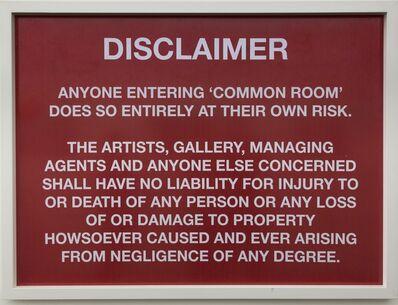 rodell warner, 'Disclaimer'