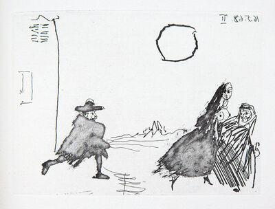 Pablo Picasso, 'Fuite à L'Aube', 1968