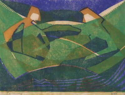 Claude Flight, 'Swimming', 1931