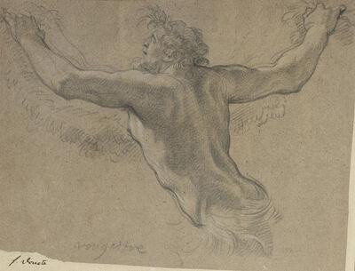 Michel Dorigny, 'Study for a satyr', ca. 1650